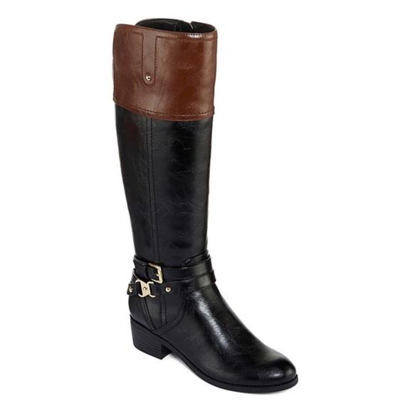 980ea75c875f Liz Claiborne Riding Boots - Wide Calf